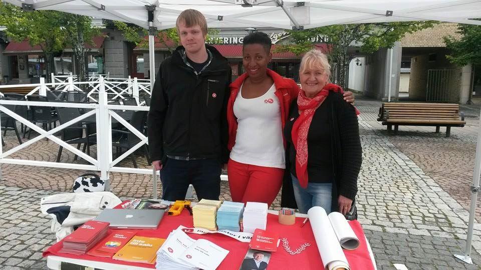 Vänsterpartiet Säffle i valrörelsen 2014